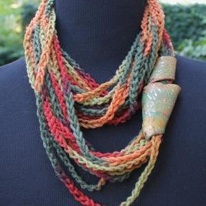 Mustard Seeds - Twisted Scarf, Marb..